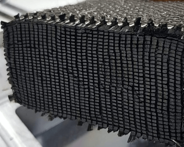 3Dwoven carbon fiber block billet panel with 3D weaving technology